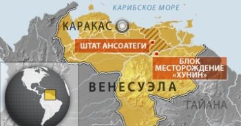 карта месторождений