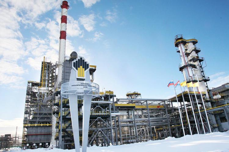 Нефтепереработка в Роснефти