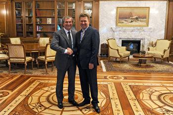 главы Роснефти и Газпрома