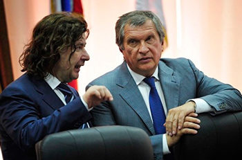 Шишкин с главой Роснефти