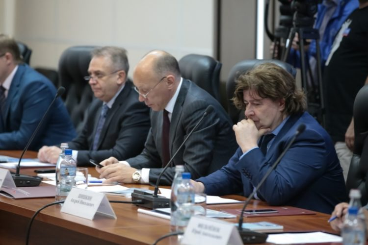 Шишкин - круглый стол с партнерами